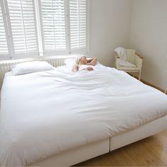 White duvet Invisible Man King - Snurk beddengoed - BijzonderMOOI* Dutch design online