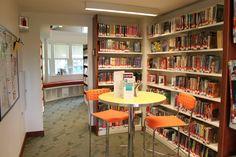 Teen spaces reorganization at The Hampton Libary