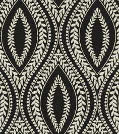 Home Decor Fabrics Waverly Carino Blackbird Upholstery Fabric