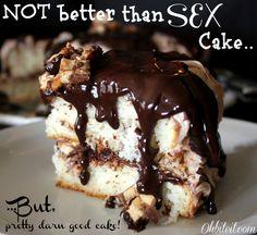 ~Not Better Than Sex Cake..but pretty darn good cake! ;)