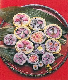 Futomaki. Sushi. 太巻き寿司 https://www.facebook.com/tabaca.magno