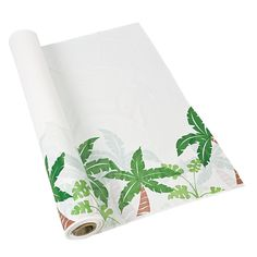 Palm Tree Tablecloth Roll - OrientalTrading.com $21.00/100FT Wall décor (???)