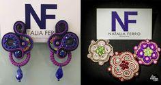 Tu Guia fashion - Diseños NF by Natalia Ferro y su técnica de Soutache