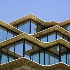 Geisel Library: Location : UC San Diego Campus Architect : William Pereira Built: 1968 - 1970  The Geisel Library was intended to be the cultural and social focal point of UC San Diego.The building is supported by sixteen external concrete trusses, which were originally designed to be inside, but were moved outside in order to increase useable space. This made quite the brutalist facade. The floors are stepped like a ziggurat and like temples of old, there is a mystery inside. The much…