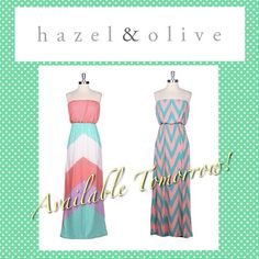 Chevron Maxi's Hazel & Olive Boutique>>Tumblr