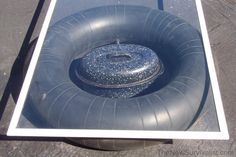 Inner tube solar oven and other energy sources (www.ChefBrandy.com)