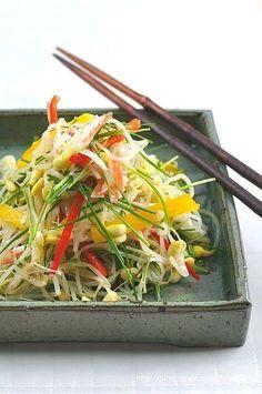 Wine Recipes, Asian Recipes, Beef Recipes, Cooking Recipes, Healthy Recipes, Korean Dishes, Korean Food, Food Design, Banchan Recipe