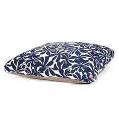 Navy Blue Plantation Extra Large Rectangle Indoor Outdoor Pet Dog Bed With Removable Washable Cover By Majestic Pet Products * Visit the image link more details.