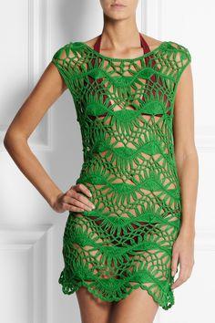 Melissa Odabash | + Julien Macdonald Cindy crocheted beach dress