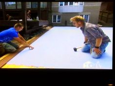 HGTVu0027s Popular Show Decked Out Features SmartRink In A Fabulous Backyard  Deck / Synthetic Ice Rink