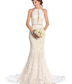 Dress Coming Unique Special Halter Elegant Lace Mermaid W... https://www.amazon.com/dp/B073XQV83W/ref=cm_sw_r_pi_dp_x_bBIAzb49KRAAG