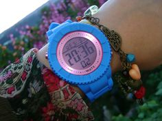 WATX & Marta Digital Watch, Watches, Color, Fashion, Moda, Colour, Tag Watches, Clocks, Fasion