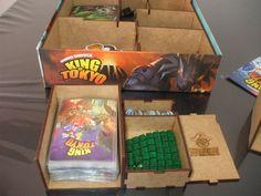 Chegou a hora de organizar seus jogos e agilizar o setup (preparação) do seu jogo de tabuleiro King of Tokyo