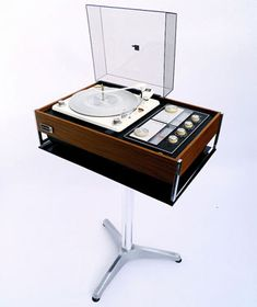 1960s Zenith Sold State audio system with Circle of Sound speakers