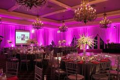 Uplighting ideas posted by others, showing what an impact it can make to your event! Wedding Draping, Wedding Reception, Wedding Venues, Wedding Flowers, Uplighting Wedding, Reception Ideas, Wedding Bells, Wedding Colors, Bella Wedding