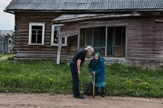 Everyone needs a little boost now and again... sometimes a smile or kind word can make all the difference. (Russia)