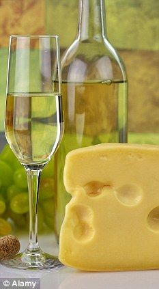 White wine is the perfect partner for cheese