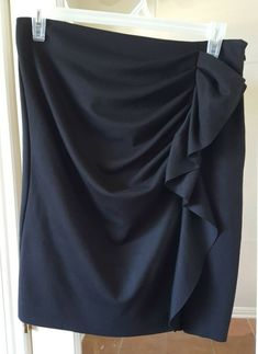 edd4c95774 Women Draped Skirt size 10 New York Co Brand. #fashion #clothing #shoes
