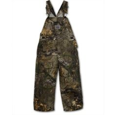 5e21bb1e59fcc Round House Little Boys Realtree Camo Bib Overall Bib Overalls and Work  Clothes at Overall Warehouse
