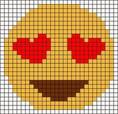 Thrilling Designing Your Own Cross Stitch Embroidery Patterns Ideas. Exhilarating Designing Your Own Cross Stitch Embroidery Patterns Ideas. Motifs Perler, Perler Patterns, Loom Patterns, Beading Patterns, Embroidery Patterns, Emoji Patterns, Pixel Crochet, Crochet Chart, Cross Stitching