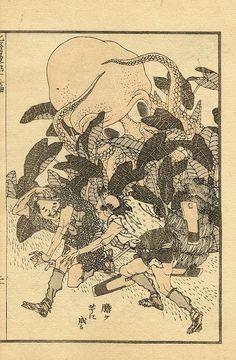 Hokusai. Octopus.