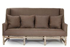 Astoria Sofa-Great design with spindle design and rivet detail