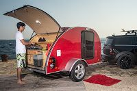 de MINI Cowley, kamperen voor eenzaten.