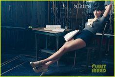 Zooey Deschanel Covers 'Allure' February 2012