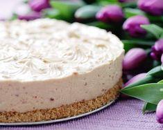 Cheesecake au chocolat blanc et biscuits