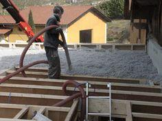 Maison ossature bois et rénovation écologique d'une ferme dans le Vercors - isolation en ouate de cellulose