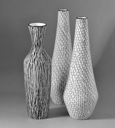 Vases by Jessie Tait for Midwinter Pottery by robmcrorie, via Flickr