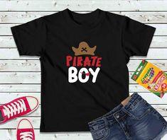 Pirate Boy Shirt, Boys Shirt, Kids Shirt Couple Shirts, Family Shirts, Boys Shirts, T Shirts For Women, Graduation Shirts For Family, Pirate Boy, Teaching Shirts, Fox Shirt, Pirate Shirts
