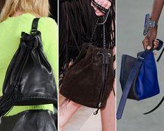 Fall/ Winter 2014-2015 Handbag Trends: Bucket Bags  #bags #bagtrends #trends