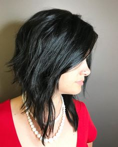 Top 25 Short Shag Haircuts of 2019 Edgy Shaggy Asymmetrical Bob Edgy Bob Hairstyles, Edgy Haircuts, 2018 Haircuts, Medium Asymmetrical Hairstyles, Wavy Asymmetrical Bob, Shaggy Bob Haircut, Short Shag Haircuts, Shag Bob, Short Shaggy Bob