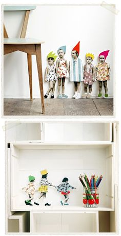 So dang cool. Reminds me of scandinavian style and children's books.