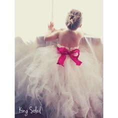Flower Girl Tutu Dress - someone better have a girl soon!!