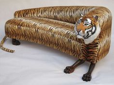 tiger sofa, living room furniture