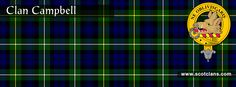 Clan Campbell Tartan and Crest    http://www.scotclans.com/scottish_clans/clan_campbell/
