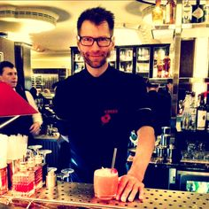 Nicolai the head barman