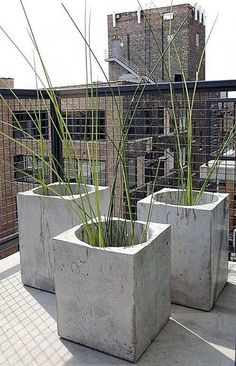 Jan Jander - Concrete Garden Pot | Hotel World Asia