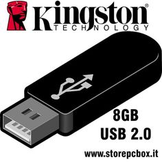KINGSTON PENDRIVE 8GB USB 2.0