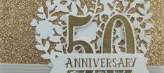 Stamp That :  SU Number of Years :50th Anniversary Gold Card