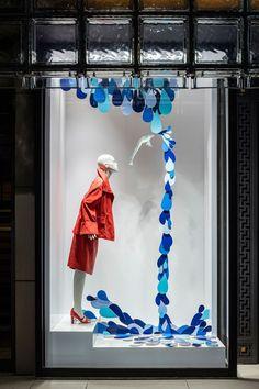 Hermès 'Making Waves' windows by Isabelle Daëron, Tokyo – Japan » Retail Design…