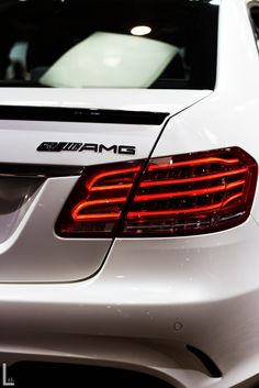 E63 AMG, I love the new designs of the rear lights! They're sexy