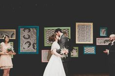 framed lace background - Camarin + Tyler Married | Port Townsend, WA » Manchik Photography