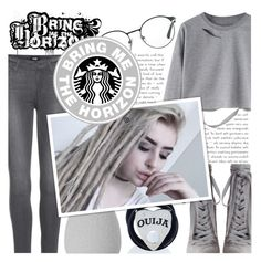 """I can't drown my demons, they know how to swim!"" by isabeldizova ❤ liked on Polyvore featuring Zimmermann, 3.1 Phillip Lim, Paige Denim, beautyblender, Mysticum Luna, StreetStyle, grey, urban, bringmethehorizon and oliversykes"