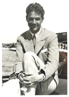 """voxsart: """" The Man Who Loved Cream Flannel Odd Trousers Howard Hughes. Howard Hughes, Gary Cooper, Clark Gable, Fred Astaire, Classic Hollywood, In Hollywood, Hollywood Glamour, Dandy, Vintage Romance"""