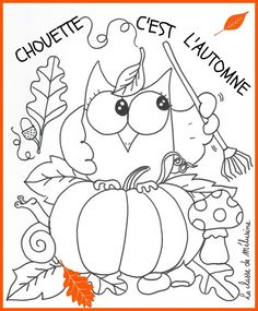Home Decorating Style 2020 for Coloriage Automne Maternelle, you can see Coloriage Automne Maternelle and more pictures for Home Interior Designing 2020 18376 at SuperColoriage. Halloween 2017, Halloween Crafts, Fall Inspiration, Bricolage Halloween, Owl Crafts, Free Printable Coloring Pages, Autumn Activities, Colouring Pages, Teaching Art