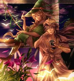 Sinbad & Yunan - Magi:The Labyrinth Of Magic