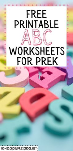 Don't miss this amazing collection of alphabet printables that are perfect for helping preschoolers and kindergarteners learn their letters. #alphabetprintables #alphabetworksheets #abcs #homeschoolprek Kindergarten Learning, Preschool Learning Activities, Preschool Printables, Alphabet Activities, Literacy Skills, Early Literacy, Alphabet Worksheets, Letter Recognition, Abcs
